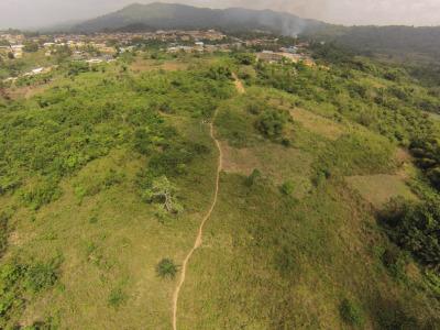 10 April 2014 Aerial View Fomena