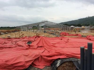 6th August 2014 Dodowa Site Progress