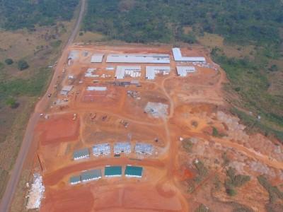 12th December 2015 Kumawu Hospital Aerial View
