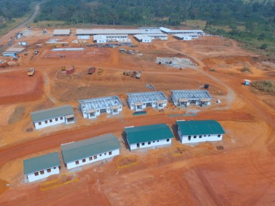 12th December 2015 Kumawu Hospital Staff Housing Aerial View