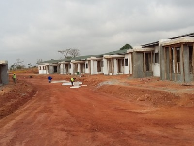 18th January 2016 Kumawu Hospital Residential Buildings