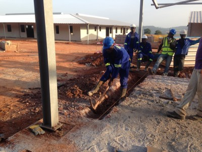 17th November 2015 Kumawu Hospital Main Building Foundations