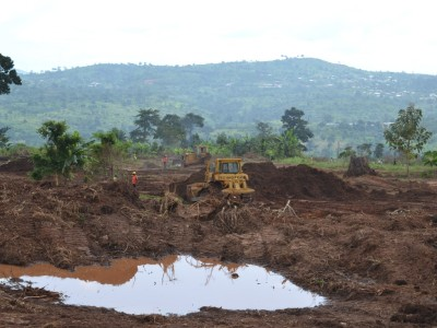 13th October 2014 Kumawu Site Clearance