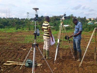 20th August 2014 Fomena Work on Site Survey