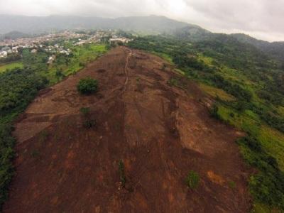 21st July 2014 Fomena Aerial Photo