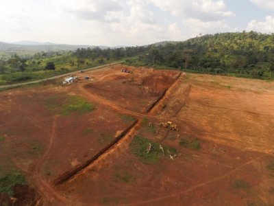 10th December 2014 Kumawu Hospital Site, Beginning of Major Earthworks