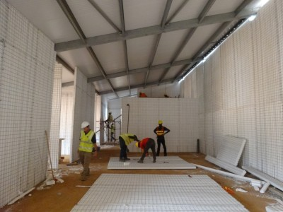 17th January 2015 Dodowa Hospital Main Building Internal Walls