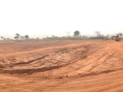 14th January 2014 Kumawu Site Levelling Earthworks