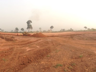 14th January 2014 Kumawu Cut and Fill Earthworks