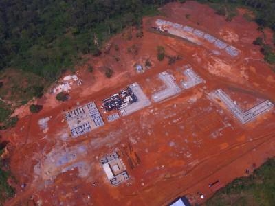 20th November 2015 Abetifi Hospital Aerial Photo