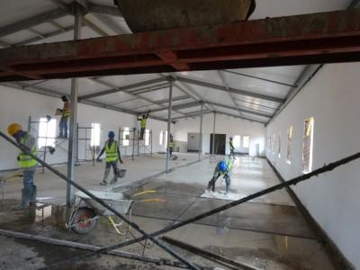 16th April 2015 Dowada Hospital Flooring in Wards