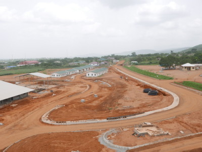22nd April 2015 Dodowa Hospital Main Entrance Road