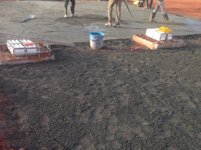 27th April 2015 Kumawu Hospital Foundations Work
