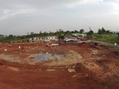 29th April 2015 Abetifi District Hospital Site