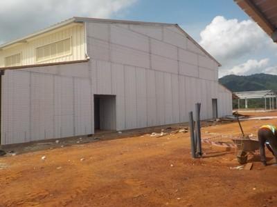 16th May 2015 Fomena Hospital Main Building External Walls