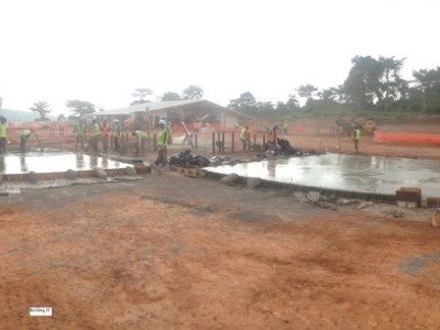 13th May 2015 Kumawu Hospital Ward Foundations