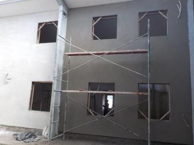 22nd June 2015 Fomena Hospital Main Building Walls