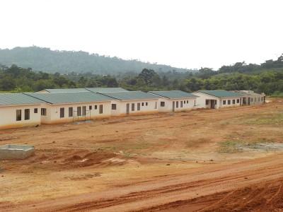 30th June 2015 Fomena Hospital Staff Housing