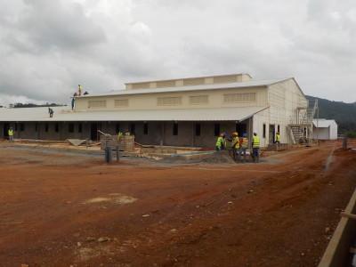 30th June 2015 Fomena Hospital Main Building