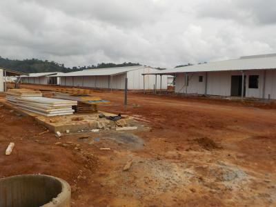 30th June 2015 Fomena Hospital Ward Buildings