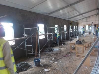 23rd July 2015 Fomena Hospital Ward Building