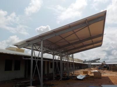 6th July 2015 Fomena Hospital Main Entrance