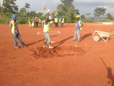 6th July 2015 Kumawu Hospital Ground Works