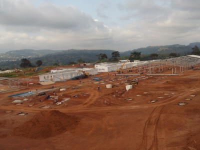 12th August 2015 Kumwau Hospital Site Photo