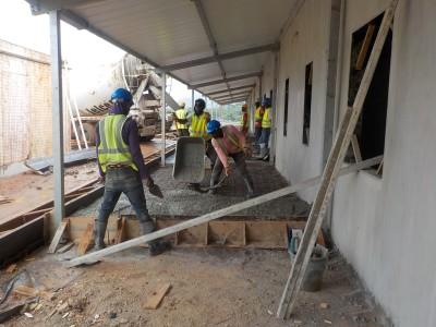 21st August 2015 Fomena Hospital Ward Walkways