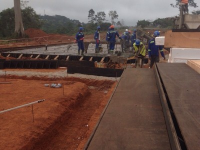 24th August 2015 Abetifi Hospital Staff Housing Foundations