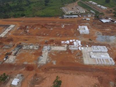 3rd August 2015 Abetifi Hospital Aerial View