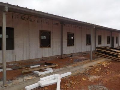3rd August 2015 Fomena Hospital Ward Windows