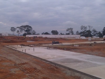 7th August 2015 Abetifi Hospital Ward Foundations