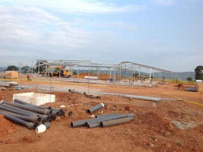 7th August 2015 Kumawu Hospital Ward Steelwork
