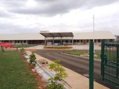 18th August 2015 Dodowa Hospital Entrance