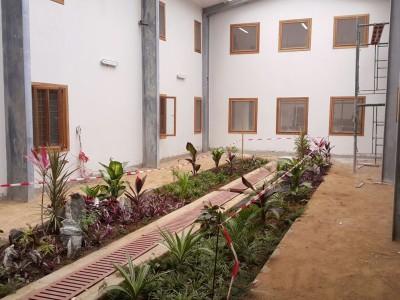 18th August 2015 Dodowa Hospital Main Building Courtyard