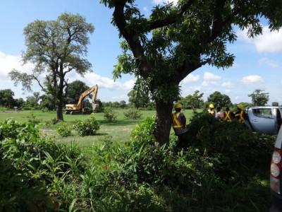 16th August 2015 Garu Hospital Site Inspection