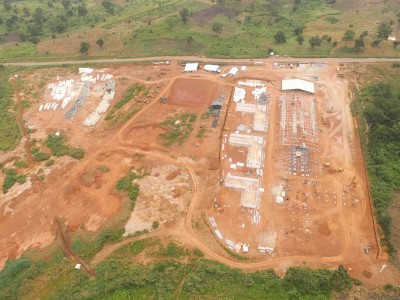 19th August 2015 Kumawu Hospital Aerial Photo