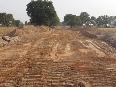 1st December 2015 Garu Hospital Access Road Strip