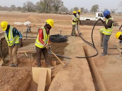 24th February 2016 Garu Hospital Site Preparations
