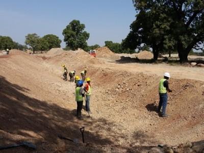24th November 2015 Garu Hospital Swale Excavation