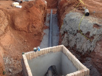 4th September 2015 Kumawu Hospital Drainage Line