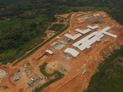 8th September 2015 Fomena Hospital Aerial Photo