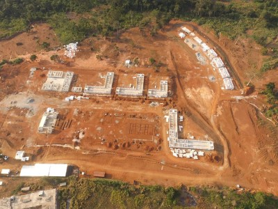 9th September 2015 Abetifi Hospital Aerial Photo