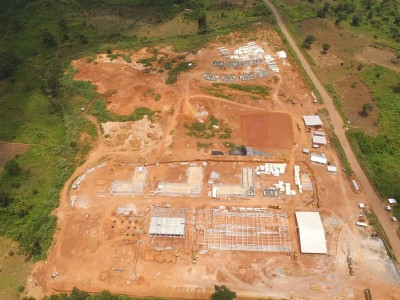 9th September 2015 Kumawu Hospital Aerial Photo