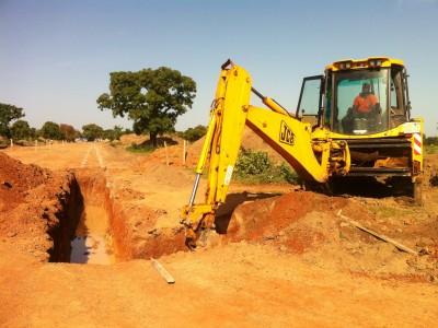 15th October 2015 Garu Hospital Swale Excavation