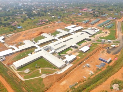 23rd January 2016 Dodowa Hospital Aerial View