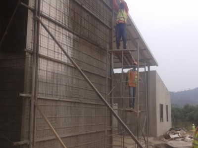 16th February 2016 Fomena Hospital Maintenance Building