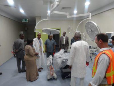 Dodowa Hospital Visit - 16.03.16