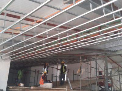 14th March 2016 Fomena Hospital Ceiling Works